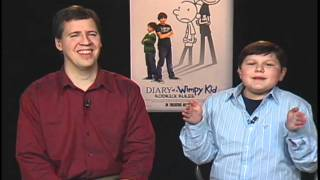 Diary of a Wimpy Kid: Rodrick Rules - Film Fiend Interview w/ Robert Capron and Jeff Kinney (Diary of a Wimpy Kid: Rodrick Rules)