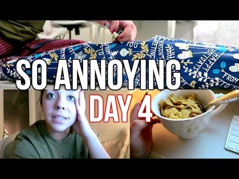 WRAPPING PRESENTS + TECHNOLOGY SUCKS #Ashtmas Day 4