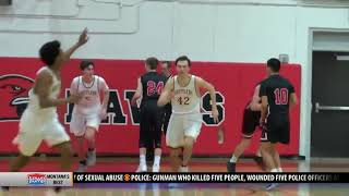 Bozeman boys basketball beats CMR on Senior Night