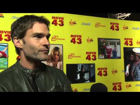 "Entrevista Sean William Scott - Premiere ""Movie 43"""