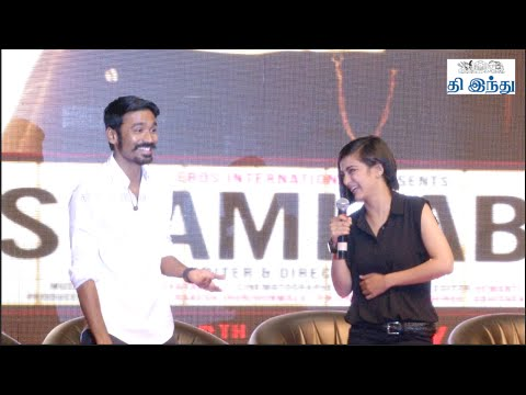 Dhanush is India's Finest Actor: Director Balki | 'Shamitabh' Promotion in Chennai