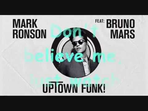 Mark Ronson ft. Bruno Mars - Uptown Funk (Lyric)