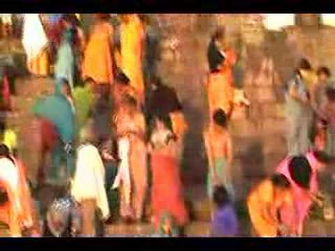 Bathing In The Ganges River In Varanasi, India video