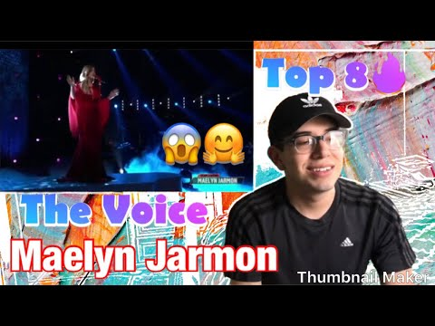 """Maelyn Jarmon Performs Rihanna's """"Stay"""" - The Voice Top 8 Semi-Final Performances 2019 