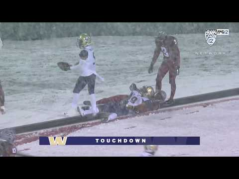 Football: No. 16 UW Football Overcomes No. 8 WSU At Apple Cup With Big Night From Myles Gaskin