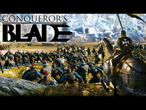 Massive Siege Battles & Devastating Warlords - PVP & Game Overview - Conquerors Blade Gameplay