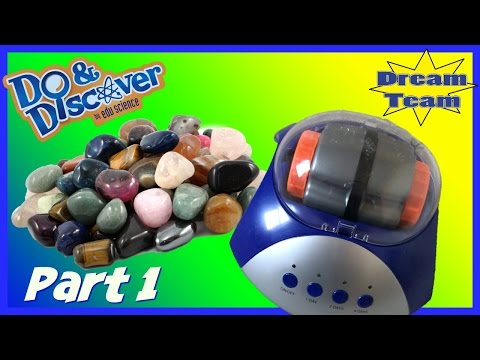 💎Rock Tumbler   Edu Science   Part 1  The Dream Team Review