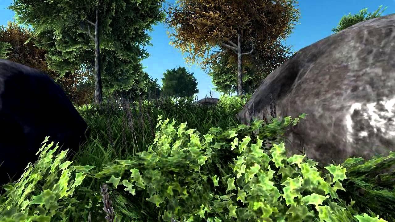 Blender Game Engine Forest