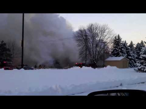 Elk River, MN Evans Meadows apartment building fire 12/05/2013
