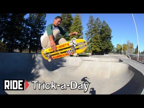 How-To Skateboarding: Tuck Knee with Andrew Langi