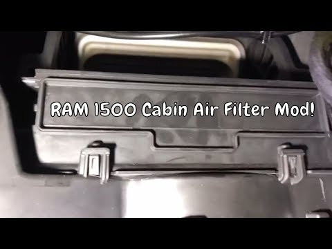 on Dodge Ram 3500 Cabin Air Filter