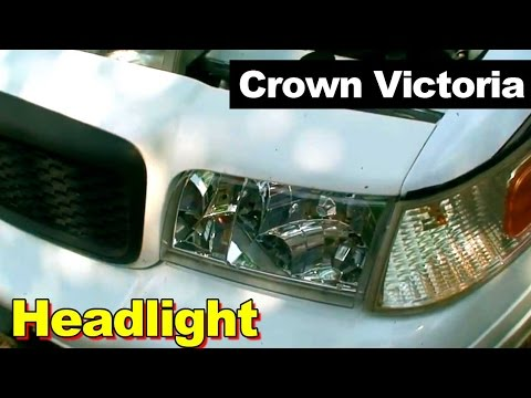 2003 Ford Crown Victoria Headlight Replacement