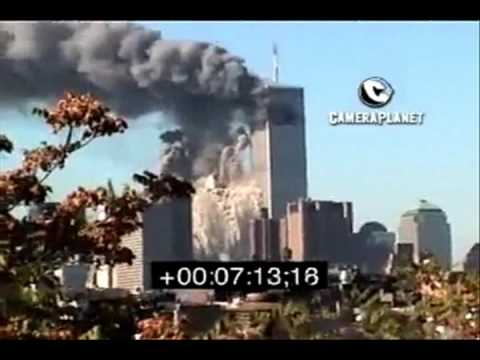 2 World Trade Center 9/11 Demolition - South Tower compilation #1