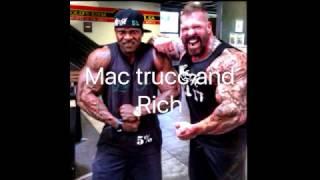 Rich Piana Vs Mac Trucc Fight Play By Play !!!
