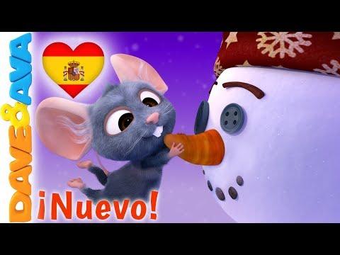⛄️ En Navidad    Villancicos de Navidad   Canciones Infantiles de Dave y Ava ⛄️