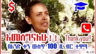 አመሰግናለሁ!! Thank you!! የዶክትሬት ዲግሪ ተማሪዋ ድርቧ ደበበ Dirbwa Debebe