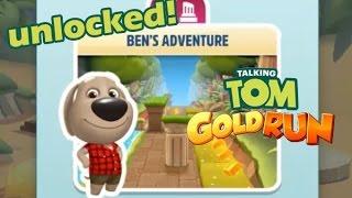 Talking Tom Gold Run / Ben's Adventure / Talking Ben Unlocked