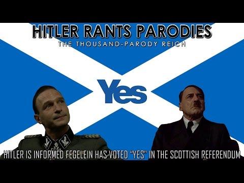 "Hitler is informed Fegelein has voted ""Yes"" in the Scottish Referendum"