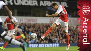 Arsenal - AMAZING Top five volleys