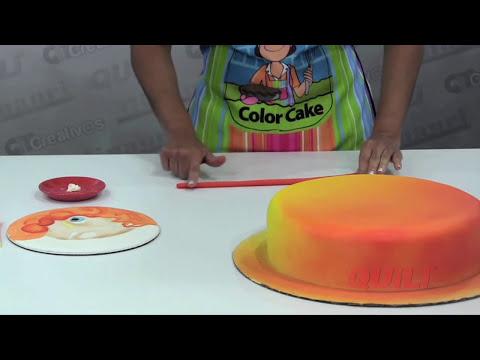 DIY - Torta Princesa - Princess Cake - ( Aerografía / Airbrushing )