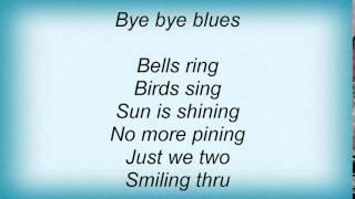 Watch Louis Armstrong Bye Bye Blues video