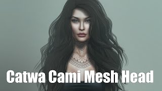 Catwa Cami Basic Female Mesh Head in Second Life