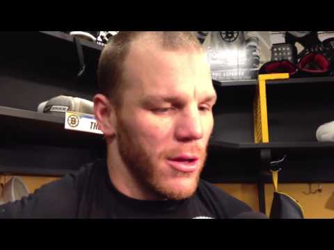 Shawn Thorton Bruins need to get physical