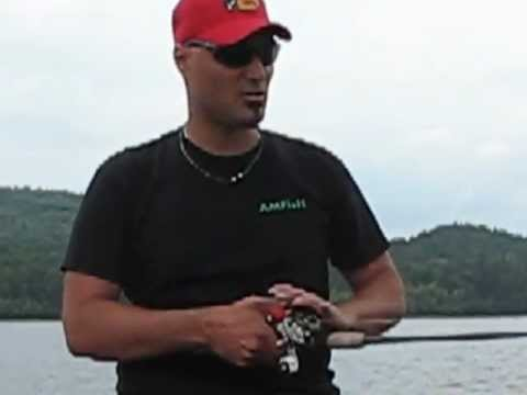 How to spool braided line on to a bait casting reel