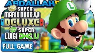 New Super Luigi U Deluxe - FULL GAME 100% Walkthrough (Nintendo Switch)