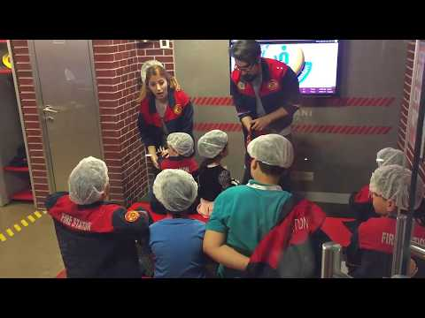 İndoor Playground Family Firefighters Kids Children fun - Oyun Parkı