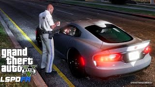 GTA 5 LSPDFR EP #28 - UNMARKED HIGHWAY PATROL CHARGER