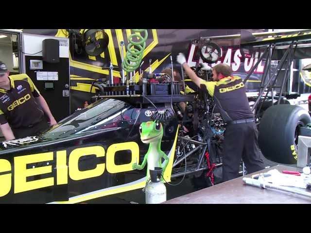 NHRA's Morgan Lucas Racing & Richie Crampton ready for Epping, NH