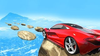 EXTREME MILE HIGH Skill Course! - GTA 5 Funny Moments