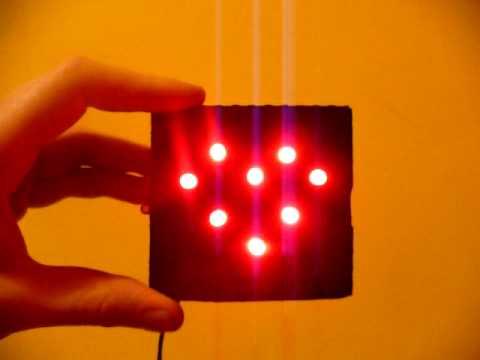 Heart LED n555 timer
