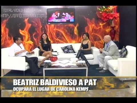 BEATRIZ BALDIVIESO OCUPARA EL LUGAR DE CAROLINA KENPFF EN PAT
