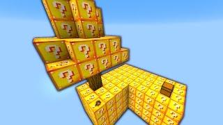 LUCKY BLOCK SKYBLOCK WARRIORS! - Minecraft Mods
