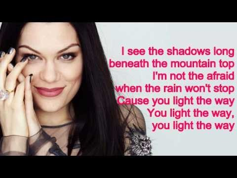 Jessie J   Flashlight Lyrics On Screen