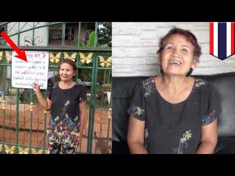 Wanita mencari cinta, pasang pengumuman depan rumah - TomoNews