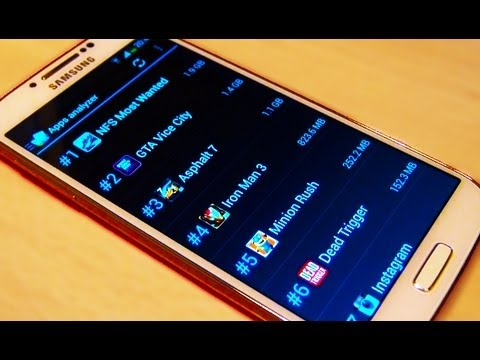 Samsung Galaxy S4 Move App+Data to Micro SD Card