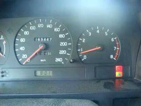 Volvo 850 RPM problem - YouTube