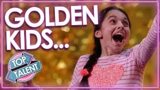TOP Kids Golden Buzzers From Got Talent Worldwide! | Darci Lynne, Beau Dermott & MORE! | Top Talent
