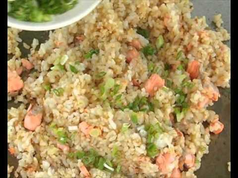 FUJI Salmon Fried Rice ฟูจิข้าวผัดปลาแซลมอน