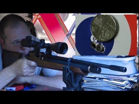 S200 AIr Gun - Pellet Group - 21 Yards - Quick Rifle Test