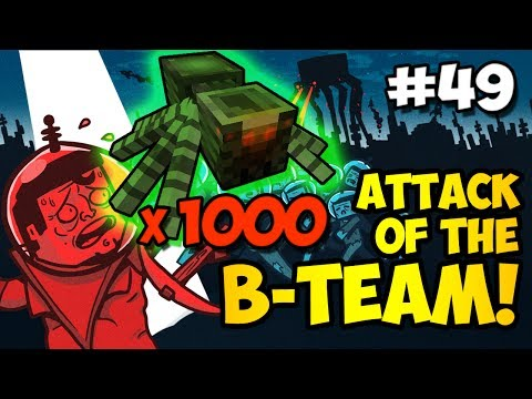 Minecraft: I'VE BEEN PRANKED!!! - Attack of the B-Team Ep. 49 (HD)