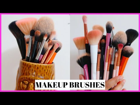 Makeup Brushes & Their Uses for Beginners | Anindita Chakravarty
