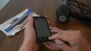 Замена экрана Huawei Y-330 с помощью простого фена!