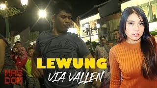 Via Vallen Lewung Covered by Angklung Pengamen Malioboro