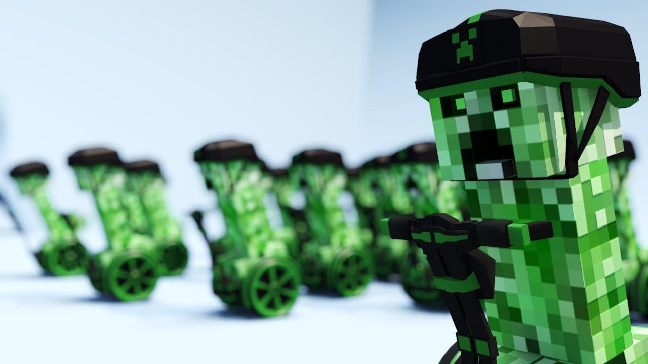 Llavero de Creeper -Llavero de Minecraft casero