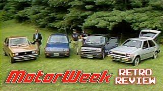 Retro Review: 1982 Econobox Comparison
