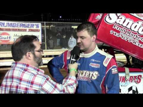 Williams Grove Speedway 410 Sprint Car Victory Lane 03-27-15